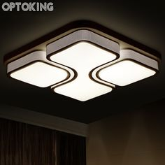 modern living room ceiling lamps luminaria abajur surfaced mounted rectangle ceiling light dimming ceiling lamps dinning room design