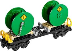 Lego city cable drum wagon- #split from #cargo #train set 60052 *new & unassemble, View more on the LINK: http://www.zeppy.io/product/gb/2/401250333450/