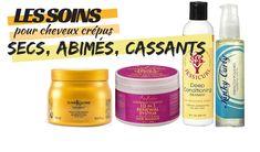 Tout savoir sur l'entretien, les traitements et les produits capillaires des cheveux crépus naturels abimés, secs et cassants.