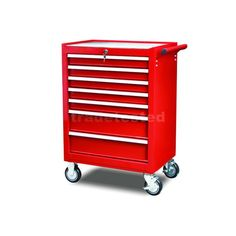 Rolling Tool Cabinet 7 Drawer Heavy Duty