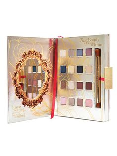 Oh! my! God!!!! I NEED this whole set. Absolutely NEED! Disney Beauty and the Beast PRO Eye Shadow Palette