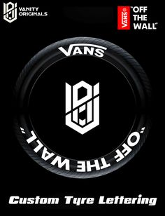 decals (adhesive ,sandpaper and instructions included) Fire And Stone, Vans Off The Wall, Bmw Logo, Car Accessories, Letters, Logos, Tips, Auto Accessories, Logo