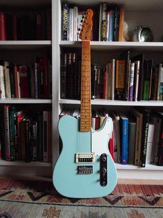 Show your Partscasters. - Page 2 - Telecaster Guitar Forum Fender Guitar Case, Fender Electric Guitar, Telecaster Guitar, Fender Guitars, Guitar Chords And Lyrics, Music Guitar, Acoustic Guitar, Guitar Room, Easy Guitar