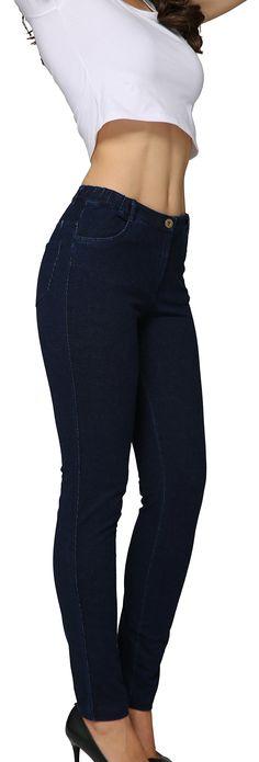 WSPLYSPJY Womens Skinny Jeans High Waisted Denim Pencil Jeggings