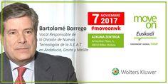 07/11 📢  #MoveOnWK Bilbao @bartolomebz expondrá los cambios de la implantación del #SII en Euskadi #IVA Inscríbete →https://hubs.ly/H08-N3_0