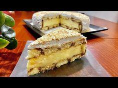 Dolce Facile e Veloce per le Feste 🎄Senza Cottura 🤤👌👌 - YouTube Cheese Recipes, Cooking Recipes, Kolaci I Torte, Italian Cake, Biscotti, Vanilla Cake, Family Meals, Panna Cotta, Cheesecake