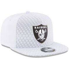 731ddb8fe65e7 Oakland Raiders New Era 2017 Color Rush 9FIFTY Snapback Adjustable Hat –  White
