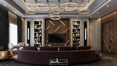 wood & gold on Behance Modern Luxury Bedroom, Luxurious Bedrooms, Living Room Modern, Living Room Designs, Lcd Unit Design, Tv Wall Design, Contemporary Interior Design, Decor Interior Design, Modern Design