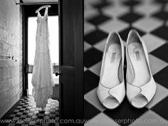 Cream & Gold wedding shoes