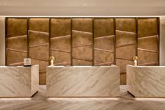 Oluce - Oluce in the restyling of the Hilton Hotel in Milan