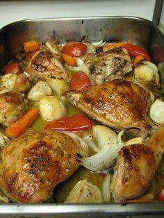 Lebanese Baked Chicken