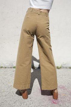 Jesse Kamm Sailor Pant in Tobacco | Oroboro Store | Brooklyn, New York