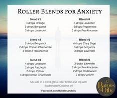 doterra blends for anxiety Essential Oils Guide, Essential Oil Uses, Essential Oils Anxiety, Oils For Anxiety Doterra, Young Living Essential Oils For Anxiety, Oils For Energy, Roller Bottle Recipes, Essential Oil Diffuser Blends, Angst