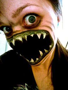 20 of creepiest Halloween makeup