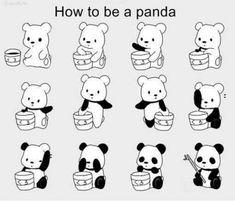 Ich werde jetzt Pandabär!