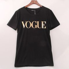 8 Colors S-4XL Fashion Brand T Shirt Women VOGUE Printed T-shirt Women Tops Tee Shirt Femme New Arrivals Hot Sale Casual Sakura