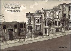 Paul Madonna - Steiner Street, San Francisco