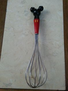 Vintage Disney Mickey Mouse Whisk Kitchen Ware by MyYiayiaHadThat, $20.00