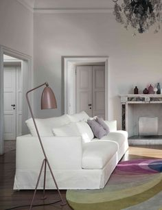 Sectional upholstered #sofa Paraiso Collection by @bonaldo | design Sergio Bicego