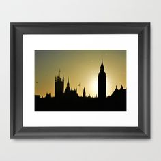 Silhouette of London skyline.All Images copyright 2014 © Andrew Barke Photography
