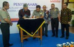 Polda Jatim Terima Bantuan 75 Sepeda Motor  dari BRI Tribratanews Polda Jatim