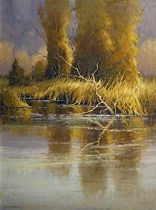The Magic Hour by Kim Casebeer Oil ~ 24 x 18