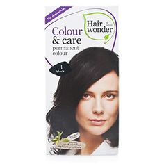 Hair Wonder - Colour and Care Black 1   100ml * You can get more details by clicking on the image.