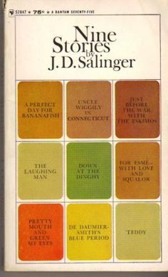 """newyorker: """" For the first post in a series where we ask New Yorker writers what book they have revisited most often, Maile Meloy writes on J. Salinger's, """"Nine Stories"""":. Jd Salinger, Books To Read, My Books, Best Short Stories, Book Authors, Paperback Writer, Love Reading, Love Book, Great Books"""