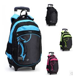 Find More School Bags Information about Casual trolley backpack wheels children school bag books kids bag shoulder backpack with detachable for boys mochila feminina,High Quality backpack water bag,China backpack parts Suppliers, Cheap backpack lunch bag from Bag's Heaven on Aliexpress.com