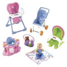 $15.99 Target online but out of stock Fisher-Price Loving Family Everything for Baby