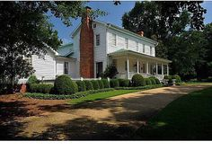 1816 federal-style home, Davis Academy Rd, Madison, GA