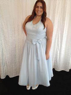 mooie avondjurken voor de volslanke vrouw by emb-fashion, maat 48 t/m maat 60