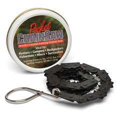 Pocket Chainsaw... a good thing to have in my bag at all times.