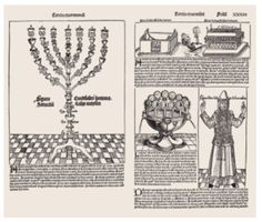 Anton Koberger, pages from the Nuremberg Chronicles, 1493.  This complexe layout is ordered by the use of rules around the images into rectangles, which can be tightly fitted with the rectangle of type.