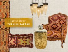 I pinned this from the Turkish Bazaar - Furniture & Accents Inspired by Istanbul event at Joss and Main!