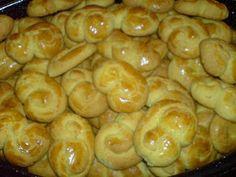 Greek Cookies, Greek Sweets, Greek Recipes, Cookie Recipes, Sausage, Vegetables, Cooking, Sweet Stuff, Food Food
