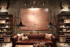 chesterfield sofa | Tumblr