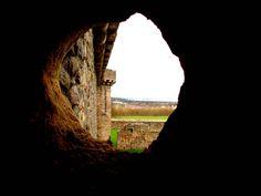 View from Craigmillar Castle, Scotland