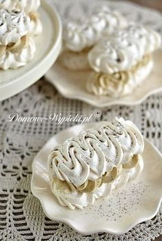 Polish Desserts, Fancy Desserts, Polish Recipes, Delicious Desserts, Dessert Recipes, Cupcakes, Cake Cookies, Muffins Frosting, Poland Food