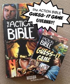 Enter to win the Action Bible Guess-It Game Giveaway (ends 11/7) sponsored by Family Christian Stores.