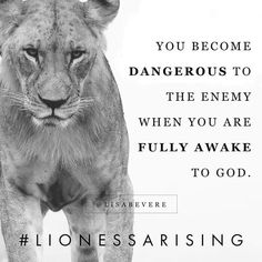"""Lioness, the darkness trembles when you turn your face toward the light. """"Awake, sleeper, and arise from the dead, and Christ will shine on… Bible Verses Quotes, Faith Quotes, Scriptures, True Quotes, Way Of Life, The Life, Lioness Quotes, Lion Of Judah, Daughters Of The King"""