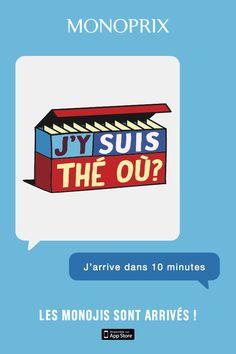 Monoprix lance des emojis avec ses jeux de mots en packaging #DigitalMarketing