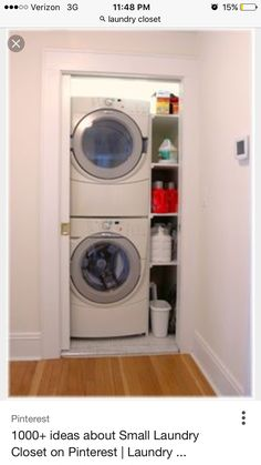 awesome laundry room ideas stacked washer dryer with. Black Bedroom Furniture Sets. Home Design Ideas