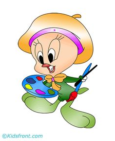 tweety bird coloring pages | Tweety Bird Coloring Pages for Kids to Color and Print
