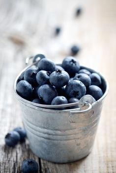 "The perfect blueberry should be ""dusty"" in color. But don't wash off that ""dust"" until you're ready to dig in. A rinse softens your blueberries, which can quicken spoiling."