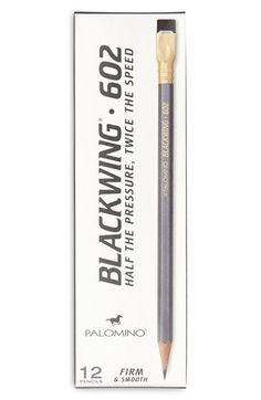 Palomino 'Blackwing 602' Pencils (12-Pack) available at #Nordstrom