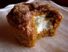 Pumpkin Cream Cheese Muffins - The Food Charlatan
