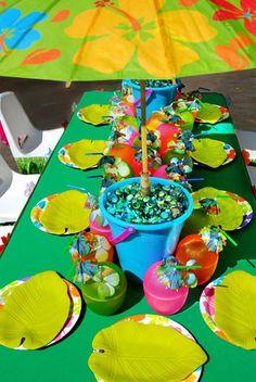 tiki luau party with so many ideas via karaspartyideascom luau partyideas