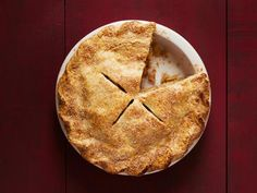 Get Food Network Kitchen's Bourbon Apple Pie Recipe from Food Network
