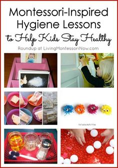 What parent doesn't dread the cold and flu season for kids? While it's always challenging to deal with developing immune systems, you can help your child with some Montessori-inspired lessons at home. These work great in the classroom, too!